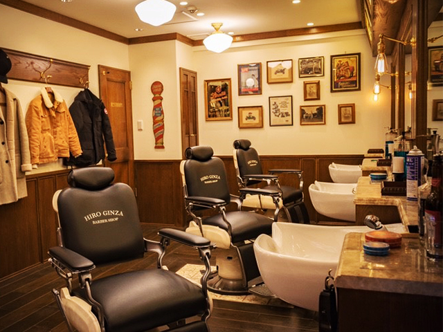 barbershop 新宿店 高級理容室 床屋 ヒロ銀座ヘアーサロン