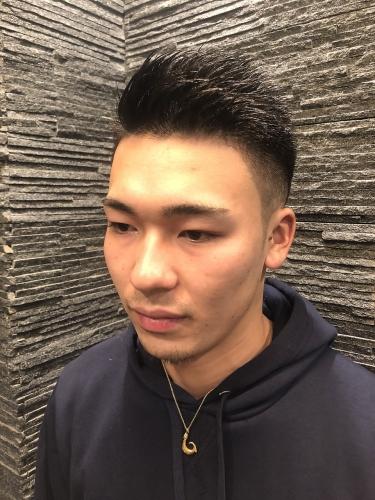 ≪男気ヘア≫ワイルドアップバンク!!!