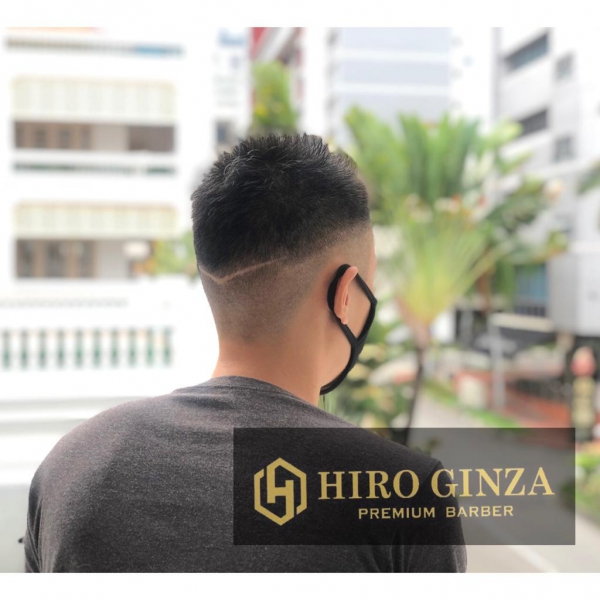 Fashionable hairstyles!<Japanese barber shop in Singapore>