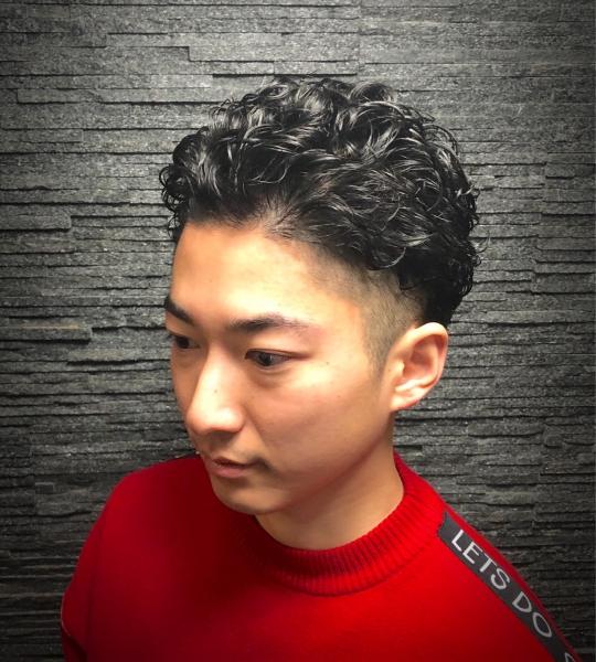 <セットが楽!>男の色気パーマ シンガポール