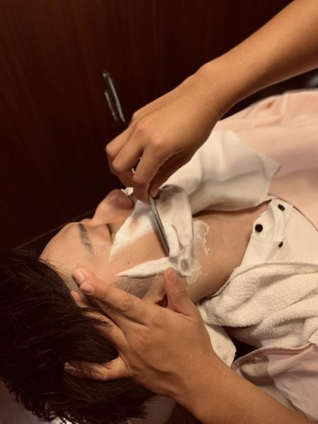 顔剃りの効果(男性編)