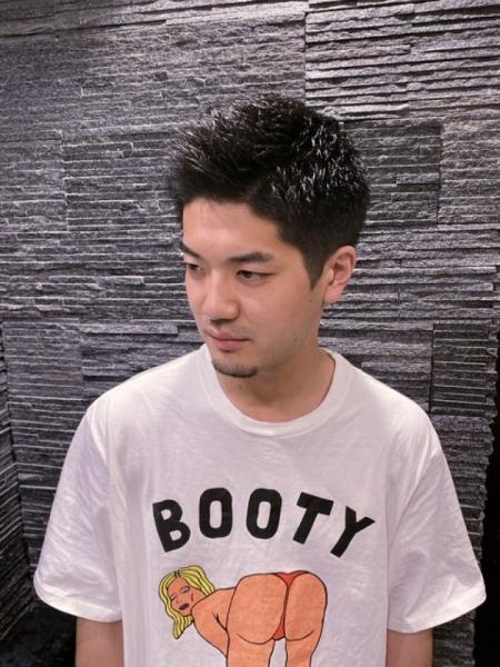 台湾 大人のショートヘア メンズカットならお任せください!〈台北/理容室/美容室/日本人/床屋〉