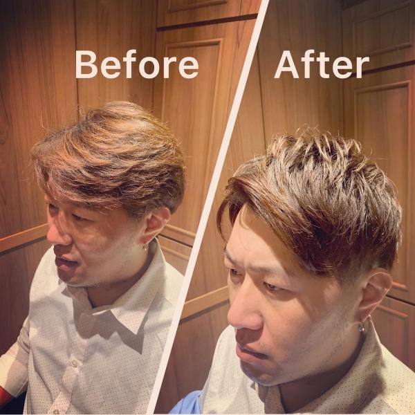 台湾 メンズカット barber〈台北/理容室/床屋〉