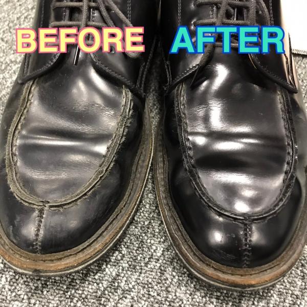 カットの間の時間を有効活用!新メニュー靴磨き👞✨