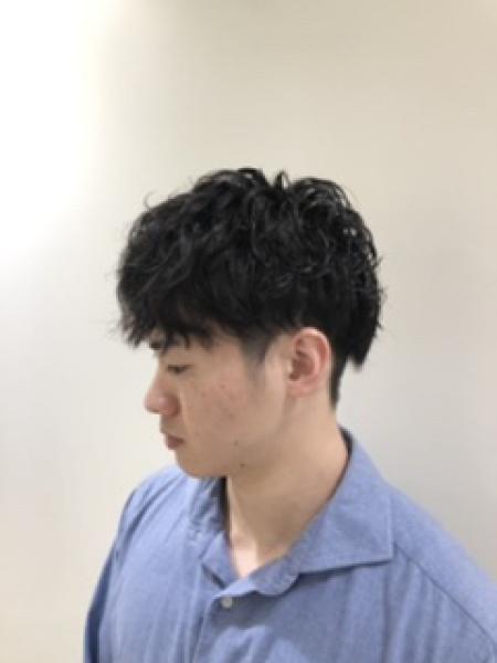 メンズパーマ 〜ロッドパーマ編〜
