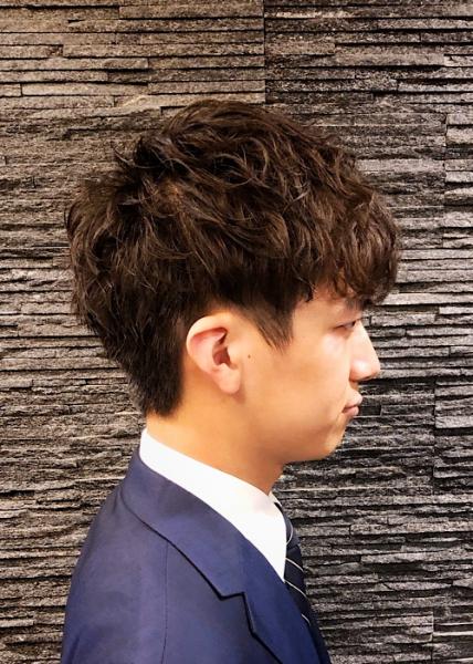 キムタク 髪型 パーマ