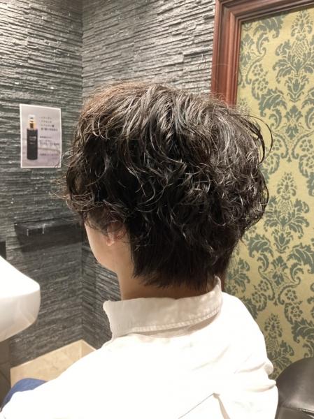 社会人でもOK大人スパイラルパーマ【ヒロ銀座】赤坂/永田町