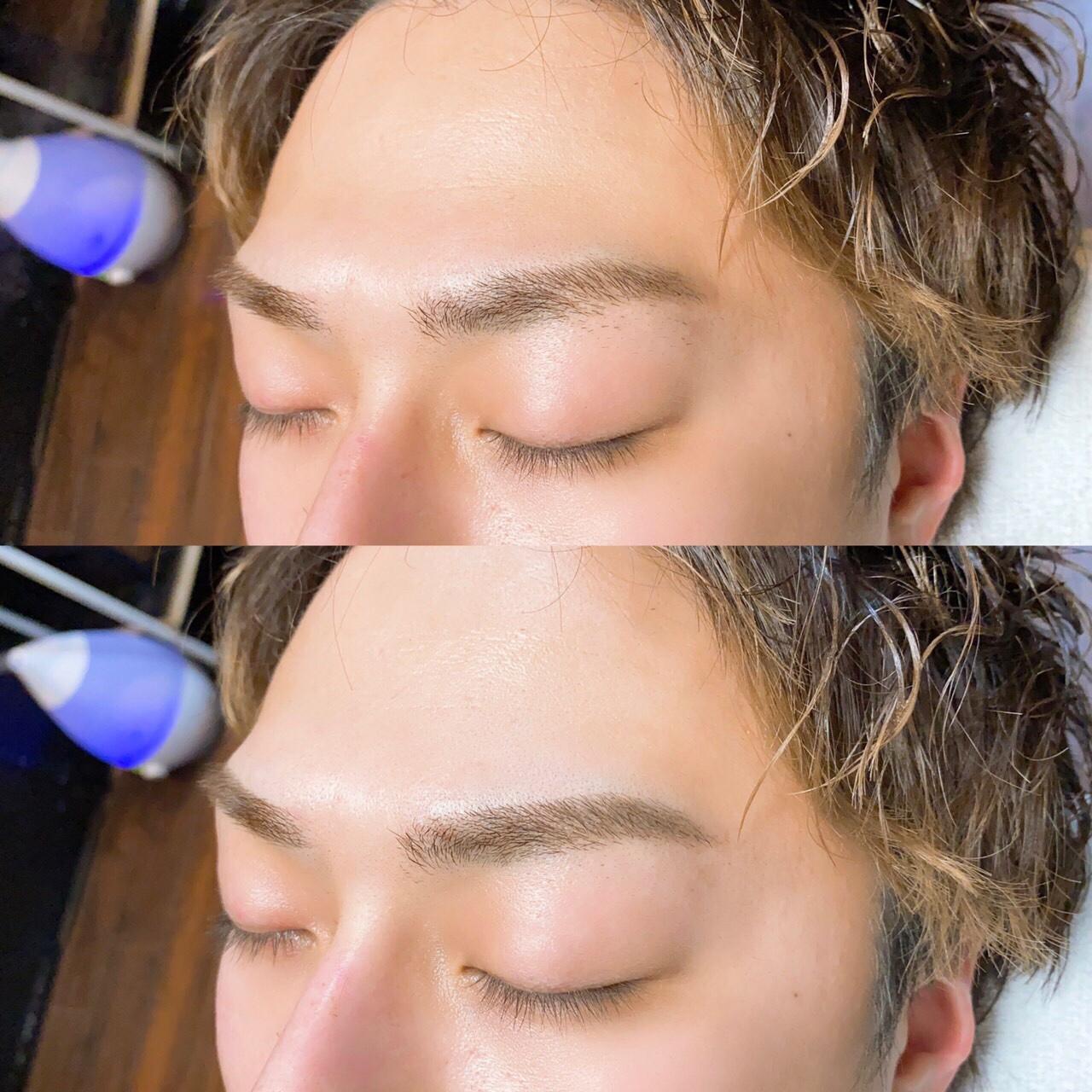 男子 眉毛 整え 方