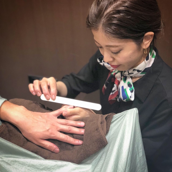 Nail Care<Japanese barber shop in Singapore>