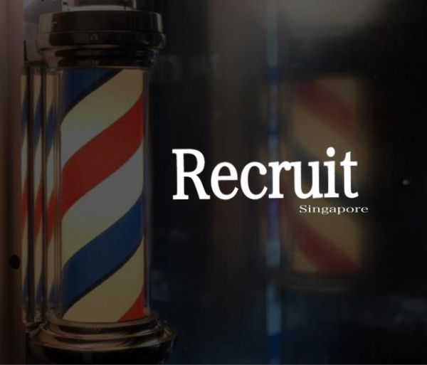 Employment information<Japanese barber shop in Singapore>