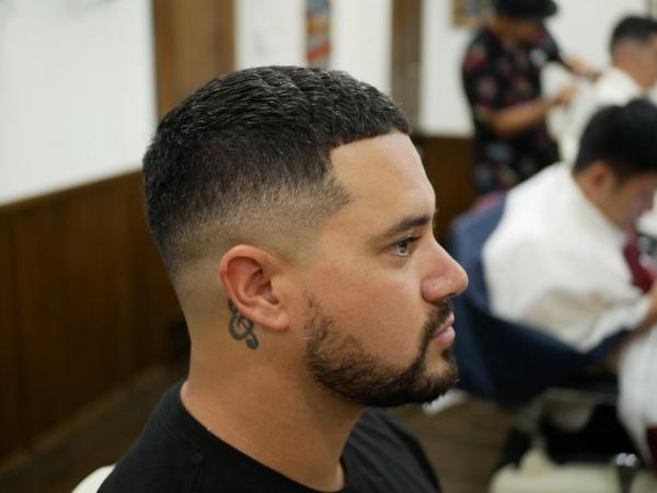 Fade hair cut