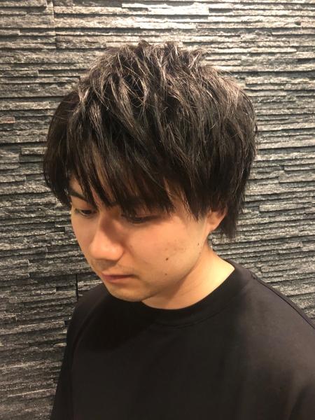 ナチュラルショート【ヒロ銀座】赤坂/バーバー/パーマ