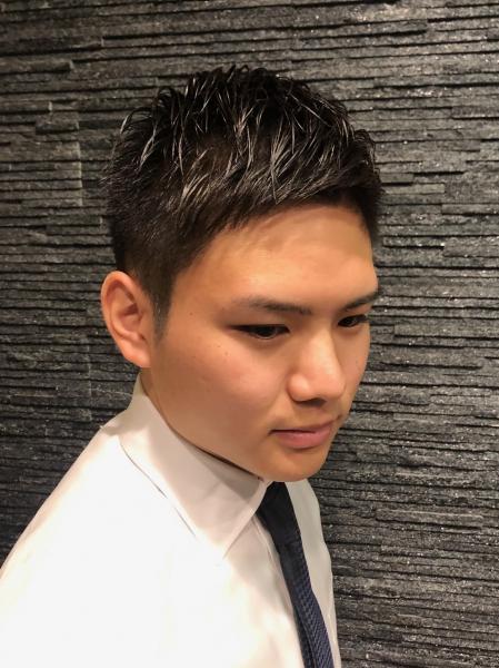 ビジネスショート【ヒロ銀座】赤坂/バーバー/パーマ