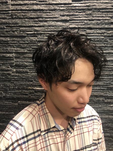 ツヤ感モテパーマ【ヒロ銀座】赤坂/バーバー/パーマ