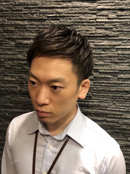 ショートパーマ【ヒロ銀座】赤坂/バーバー/パーマ