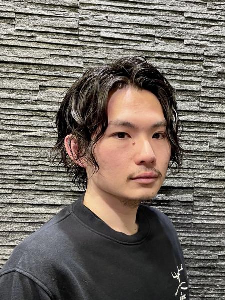 ゆるスパイラルパーマ【ヒロ銀座】赤坂/バーバー/パーマ