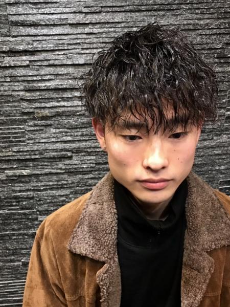 ツイストスパイラル【ヒロ銀座】赤坂/バーバー/パーマ