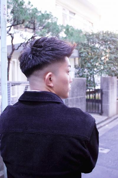 短髪&フェード