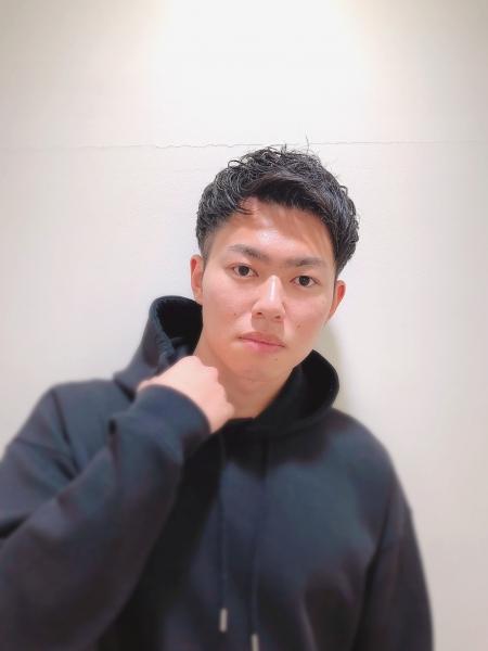 メンズパーマ×ツーブロック×刈り上げ/原宿/渋谷/表参道/バーバー