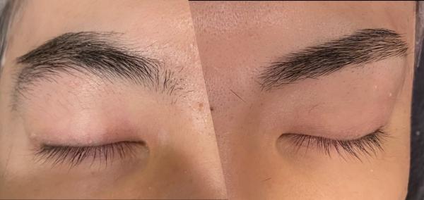 眉毛で変わる印象の違い