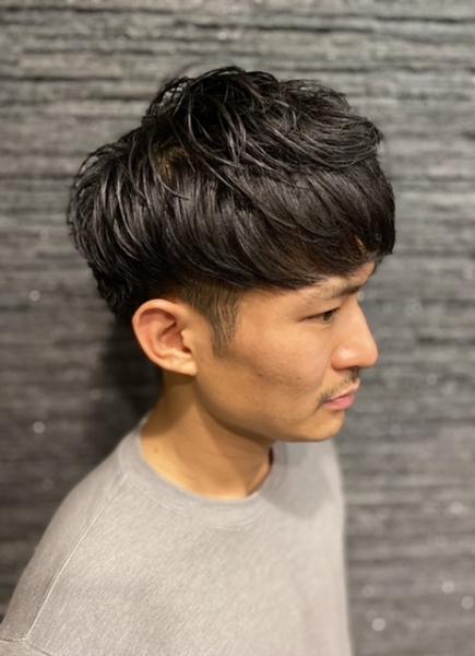 ツーブロマッシュスタイル【ヒロ銀座】赤坂/六本木/溜池山王