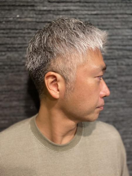 おしゃれツーブロック【ヒロ銀座】赤坂/六本木/溜池山王
