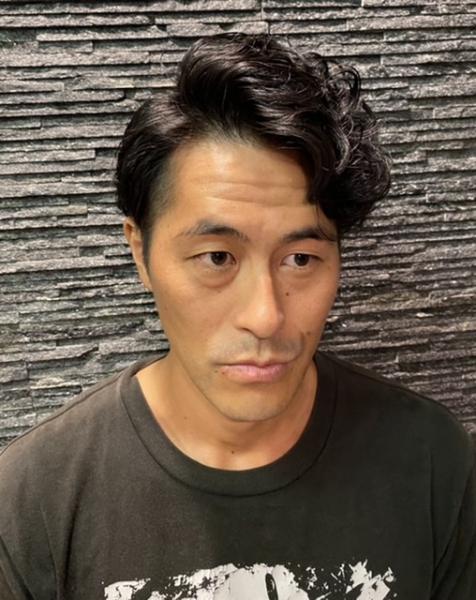 七三パーマスタイル【ヒロ銀座】赤坂/溜池山王/床屋
