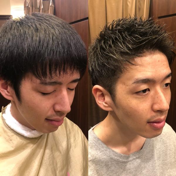 髪型だけで印象は変わります!いや、変えてみせます!【ビフォーアフター】