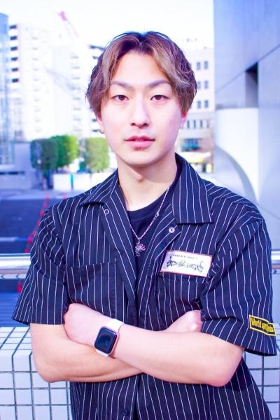 稲垣 心(11月5日から恵比寿副店長になります