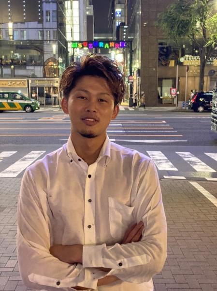 水戸岡翔大【9月1日よりHIRO銀座浜松町店に店長として異動します】